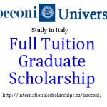 Study in Italy with a Bocconi Scholarship for International Students