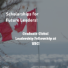 Graduate Global Leadership Fellowship at UBC