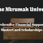 Kwame Nkrumah University Full MasterCard Scholarships