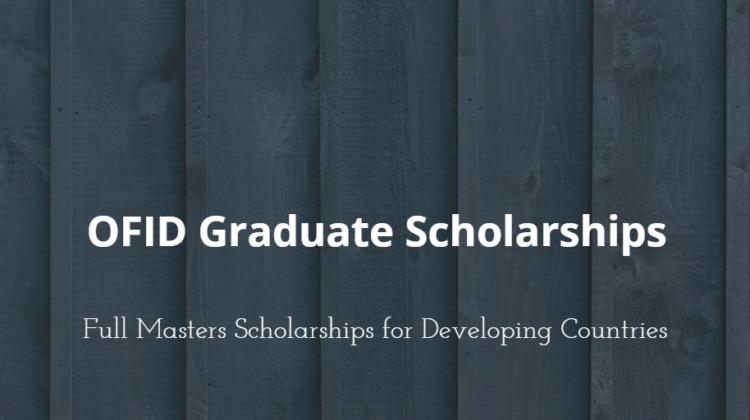 Opec Fund for International Development (OFID) Graduate Scholarships