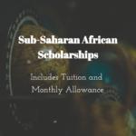 Graduate Sub-Saharan African Scholarships (UWC/DAAD)