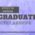 Sweden Graduate Scholarships