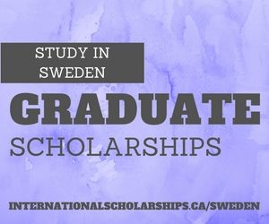 Sweden Graduate Scholarships