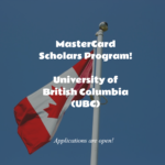 The UBC MasterCard Foundation Scholars Program