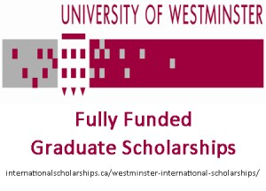 Westminster Graduate Scholarships