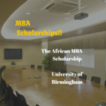 African MBA Scholarship (University of Birmingham)