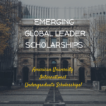 AU Emerging Global Leader Scholarship for International Undergraduate Students