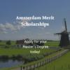 University of Amsterdam Merit Scholarships
