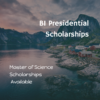 Norwegian Business School – BI Presidential Scholarships
