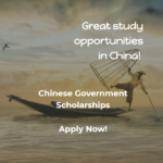 Scholarships of the Government of China