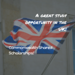 DFID Commonwealth Shared Scholarships