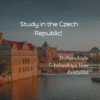 Government of Czech Republic Scholarships
