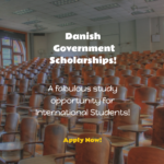 Danish Government Scholarships for International Students