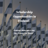 Scholarship Opportunities in Finland