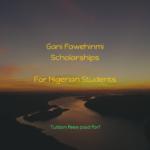 Gani Fawehinmi Scholarships for Nigerians