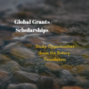 Global Grants Scholarship – Rotary Club