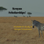 9 Great Kenyan Scholarships Available for Study in Kenya