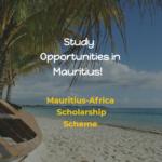 Mauritius-Africa Scholarship Scheme – MASS