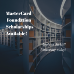McGill University – MasterCard Foundation Scholars