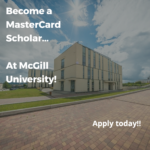 MasterCard Foundation Scholars Program at McGill University, Canada