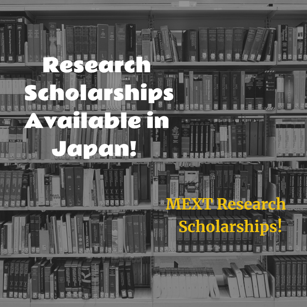 MEXT Research Scholarships - International Scholarships