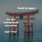 MEXT Undergraduate Scholarships