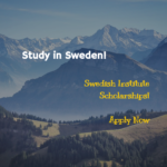 Swedish Institute Graduate Scholarships