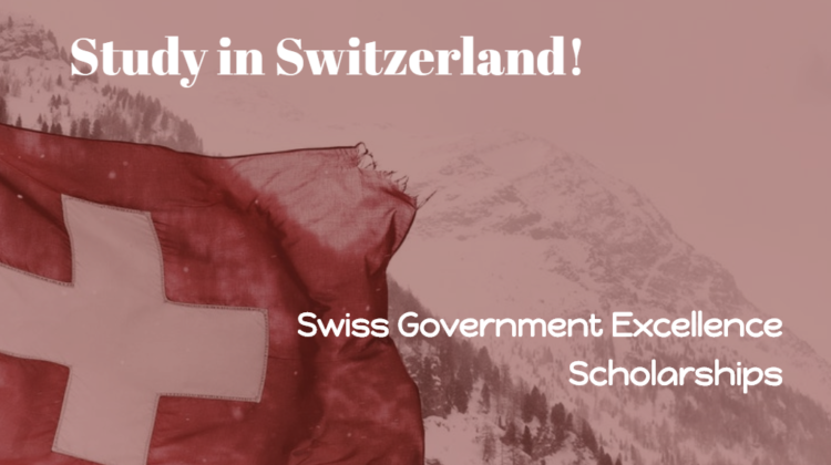 Swiss Government Excellence Scholarships (Research Scholarships)