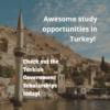 Turkish Government Scholarship Program