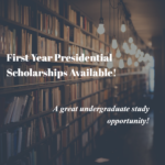 University of Iowa First-Year Presidential Scholarships