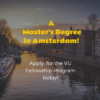 VU Fellowship Program (VUFP)