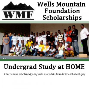 wells mountain scholarships 2013